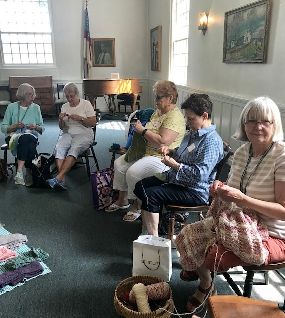 Needlework Ministry Meeting and Lunch