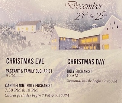 Christmas Eve – Three services